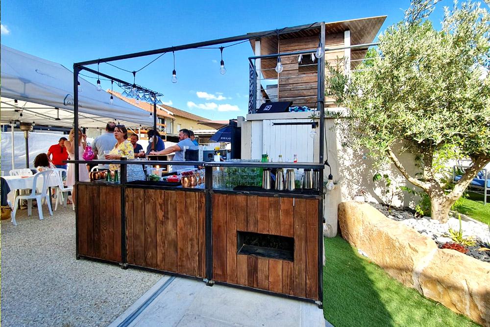 bar à cocktail à domicile
