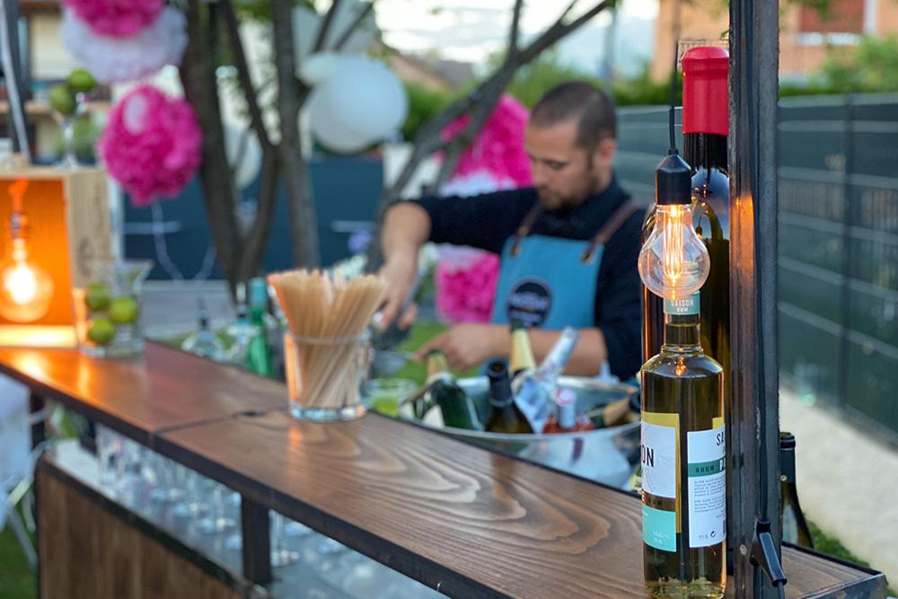 bar à vin et cocktail