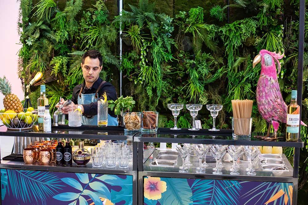 location bar à cocktail mobile pour mariage