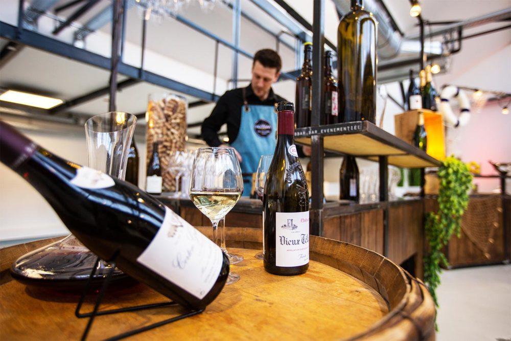 service de bar à domicile, bar à vin privé