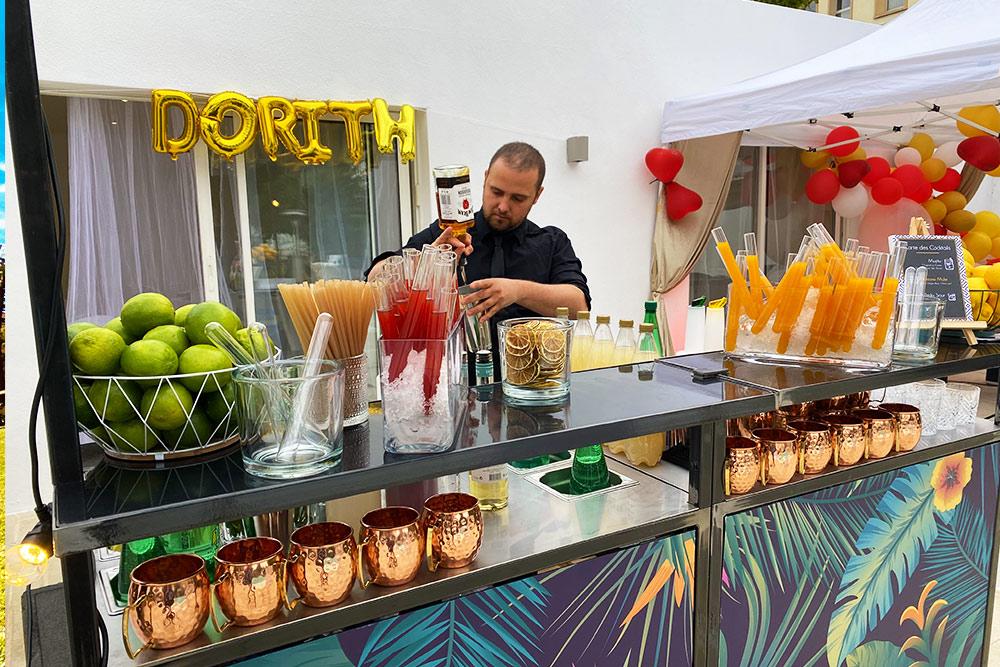 Bar mobile à Cocktail à Lyon